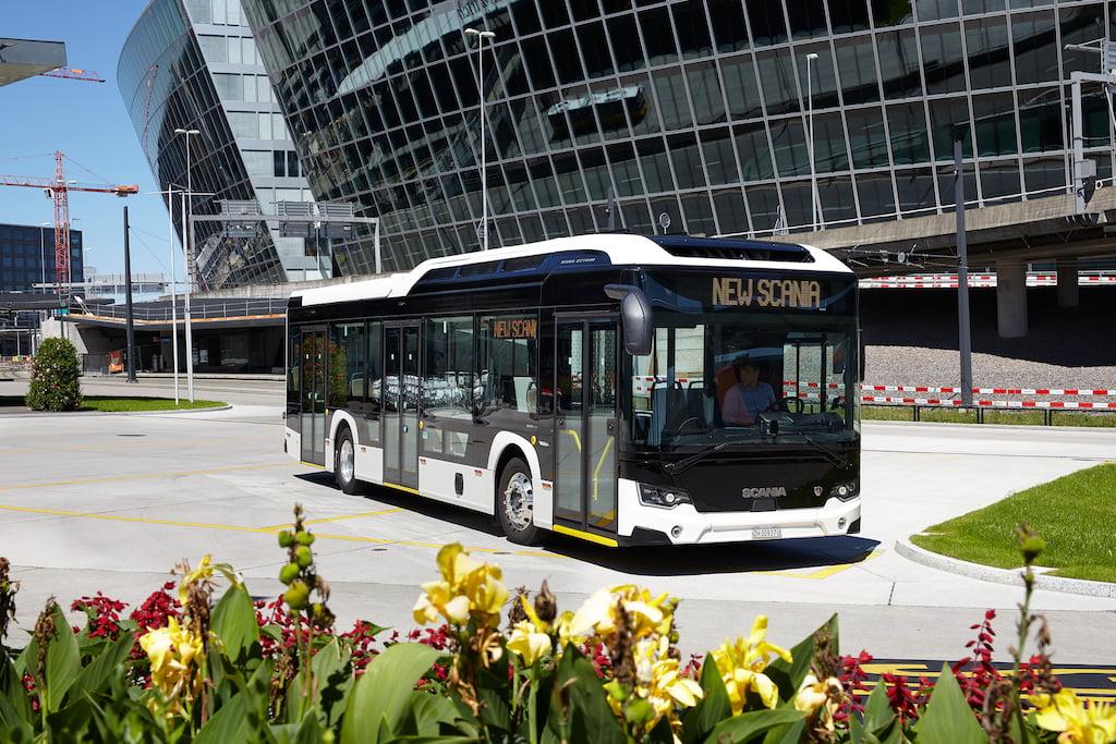 Moderní pracoviště řidiče v autobusech Scania