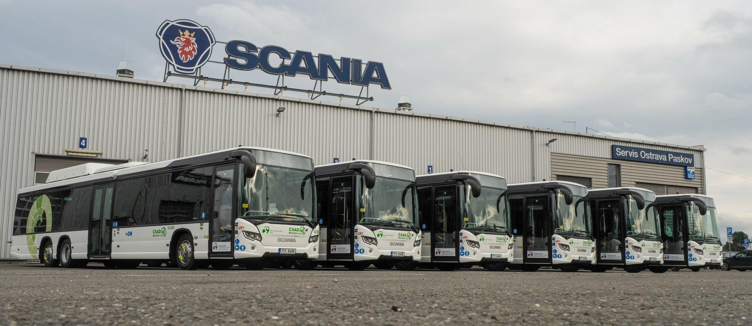 Scania Citywide na CNG pro ČSAD Havířov